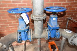 Two approx. 200mm dia. Hand Gate Valves (There will be a removal/ loading charge of £100 + VAT for