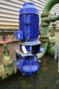 COOLING WATER FILL PUMP, with electric motor drive (valves excluded) (There will be a removal/