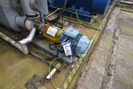 Flowserve 1K100-80-125A-OP/92mm Pump, serial no. ES1761002-01, model MARK3 ISO, year of