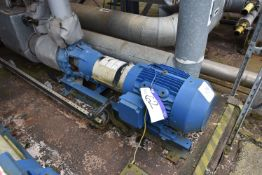 Flowserve 65-40 CPX250 Pump, no. 552033-002-01, year of manufacture 2007, 41M3 per hour, H84.05m,