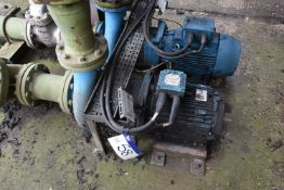Weir HC150-125-250 Centrifugal Pump, serial no. 59788-803, with 15kW electric motor and two