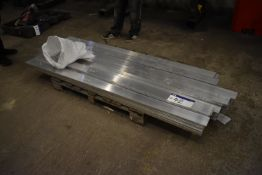 Approx. 70 Aluminium Strip, as set out, each appro