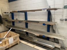 Four Tier Cantilever Framed Rack (contents exclude
