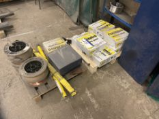 Quantity of Welding Wire, as set out on two pallet