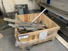 Contents of Timber Crate, including aluminium and