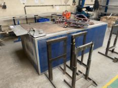 Busbar Bending Machine, with fitted steel framed b