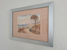 Signed Framed Watercolour 'Lake Como' Scene by TL Rotherham, 21cm x 31cm