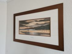 Signed and Titled Framed Oil Painting of ' Perfect Day', by Digby Page, 91cm x55cm