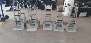 Ten Alutrul Sack Trucks