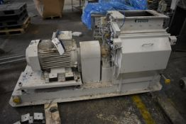 Buhler DNZF 655 HAMMER MILL, serial no. 10315201, year of manufacture 1999, with ABB 30kW electric