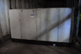 Ingersoll Rand SSR ML752S Package Air Compressor, serial no. 2500048, max. allowable working