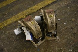 Two Fischbein Model 90 Stitching Heads, (for spares) each year of manufacture 1998 (Offered for sale