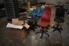 Assorted Chairs, as set out (Offered for sale on behalf of Jas Bowmans & Sons Ltd, equipment surplus