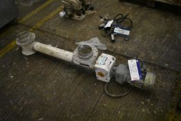 Buhler MNSG-100 Auger Conveyor, serial no. 10420503, year of manufacture 2006, manufactured in