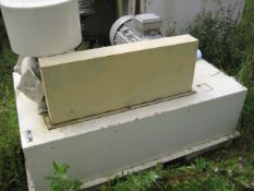 PAM Blower, with 18.5kW drive, serial no. 972321 (understood to be manufactured in 1997 -