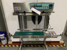 FRM-1100BL Plastic Bag Sealing Machine, approx. 1.