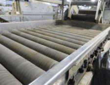 Tong Sponge conveyor, sponge width approx 2.1m (15