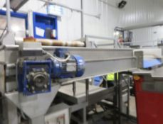 Tong & Peal Conveyor, approx. 500mm wide belt, 800