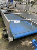 Herbert Stainless Steel Infeed Conveyor, approx. 2
