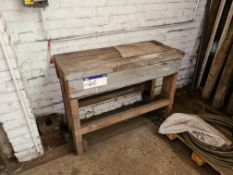 Timber Bench, 1.25m wide