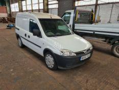 Vauxhall Combo 1.7 CDTi Diesel Panel Van, registra