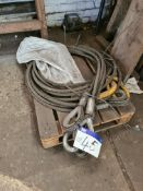 Wire Rope, as set out on pallet