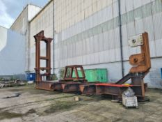 Steel Jig, approx. 15m x 4.3m overall