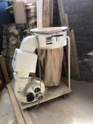 Sound Erase SFZ09BH Mobile Single Bag Dust Extractor, serial no. 000706, year of manufacture 2006