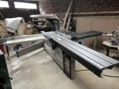 Robland Z320 Panel Saw c/w Sliding Table Extension, serial no. 20004578, year of manufacture 2000