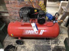 ABAC Redline B2800BI/200 Receiver Mounted Air Compressor, serial no. 181161005, year of