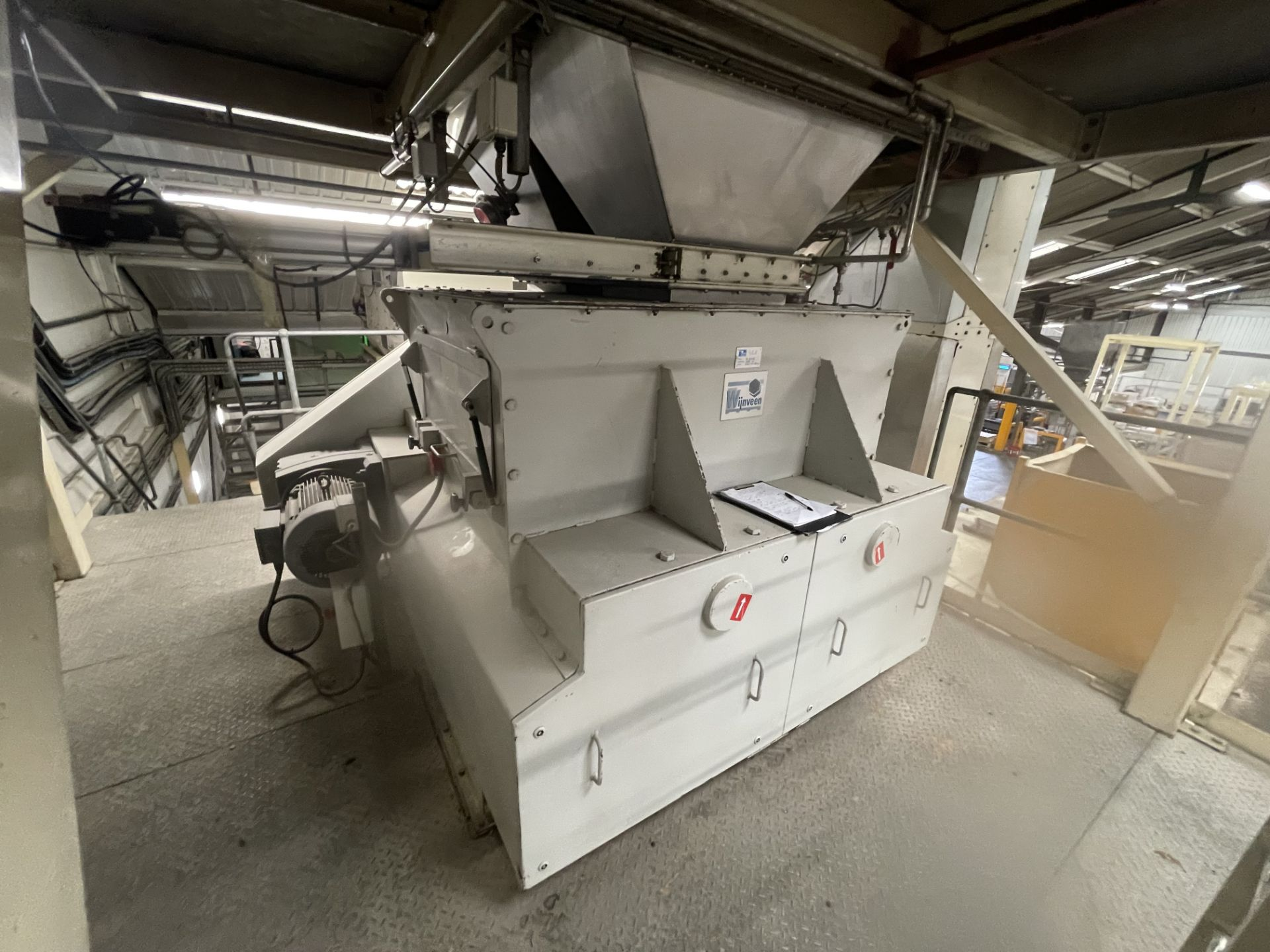 Pet Food Blending Line c/w Wynveen PM 750LH Stainless Steel Double Shaft Paddle Mixer - Image 5 of 63