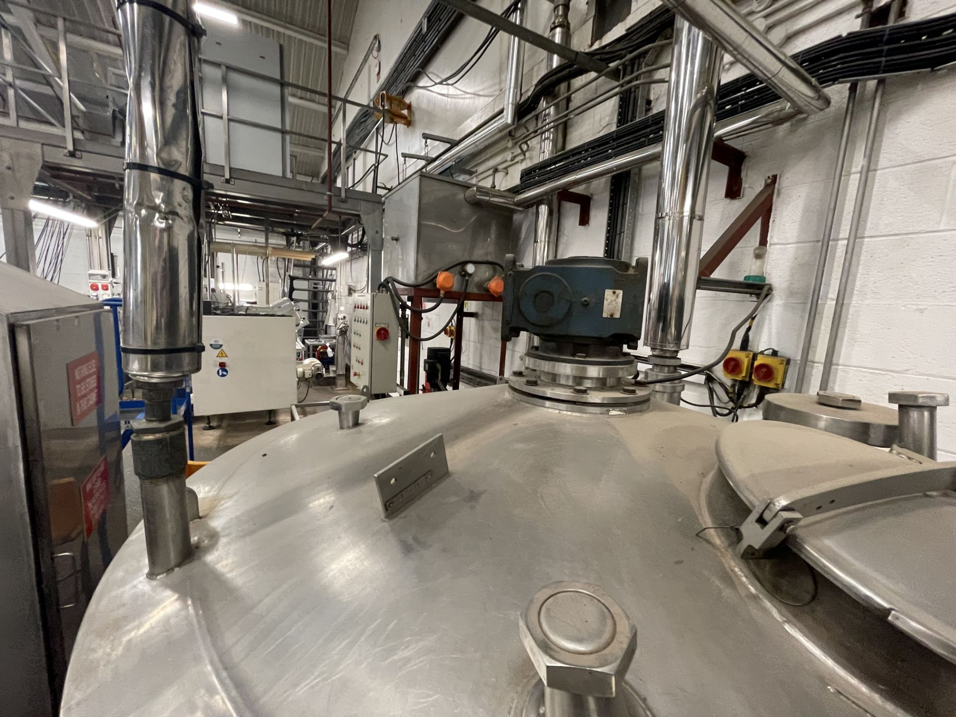 Pet Food Blending Line c/w Wynveen PM 750LH Stainless Steel Double Shaft Paddle Mixer - Image 52 of 63