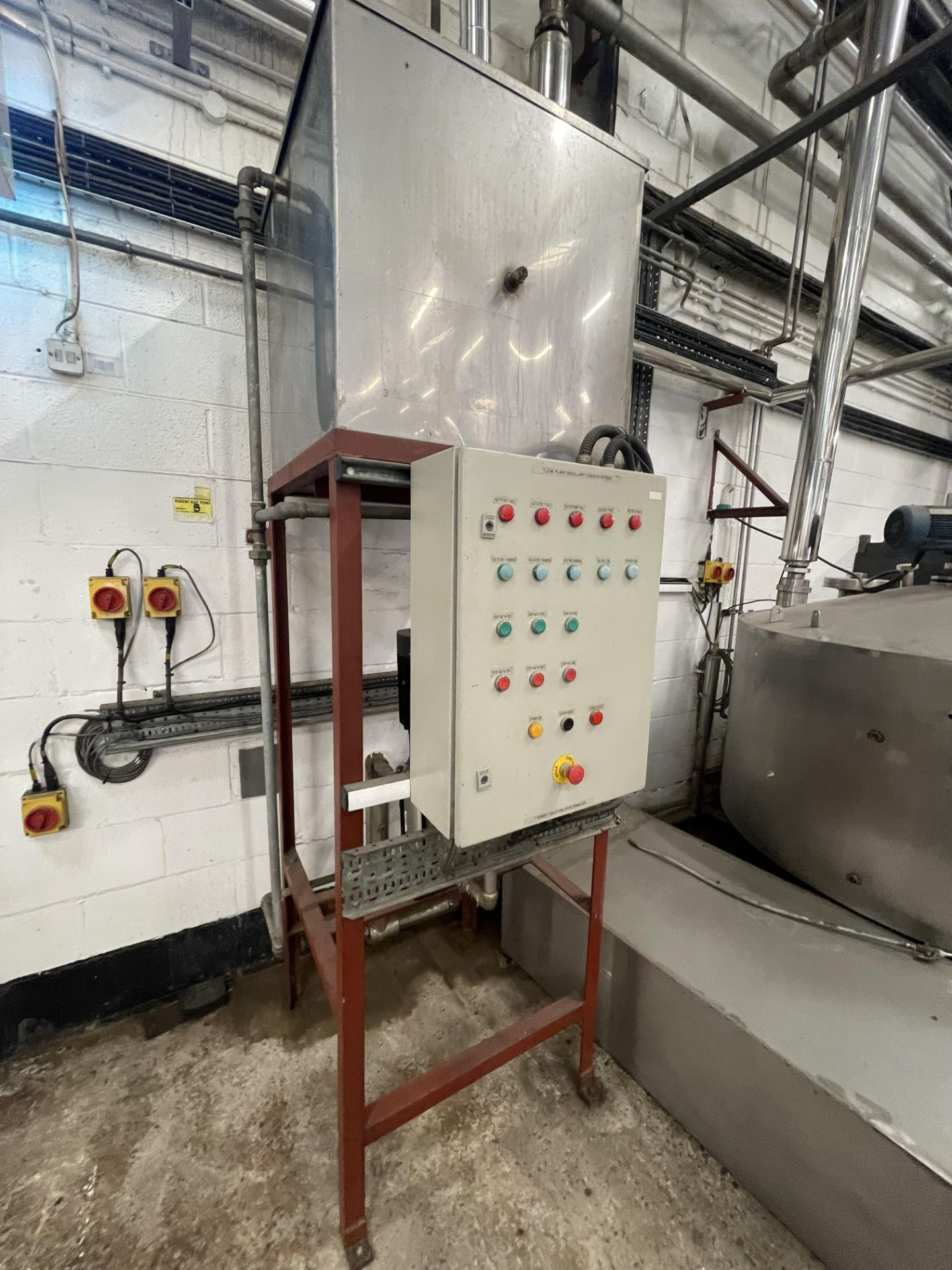 Pet Food Blending Line c/w Wynveen PM 750LH Stainless Steel Double Shaft Paddle Mixer - Image 54 of 63