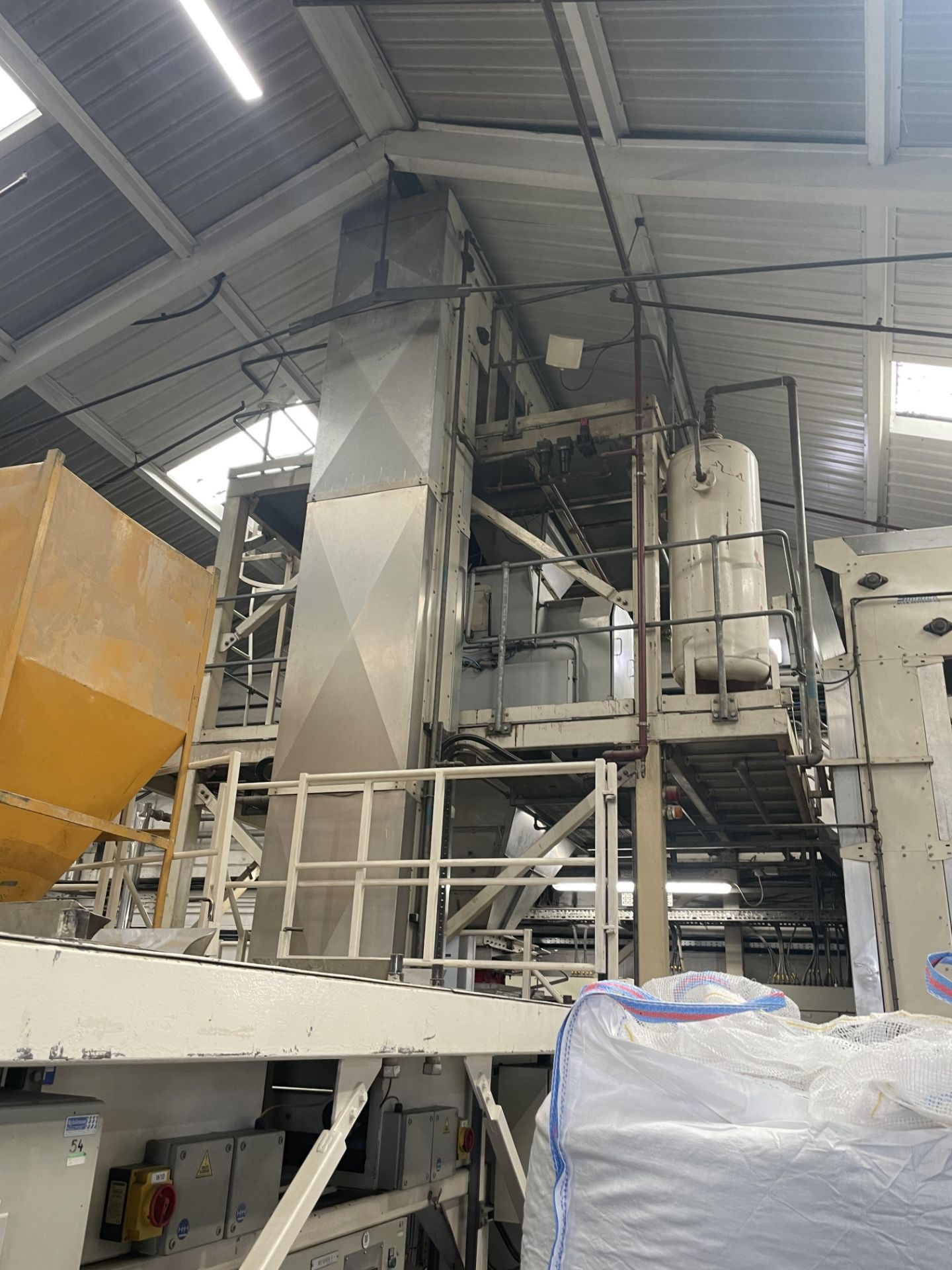 Pet Food Blending Line c/w Wynveen PM 750LH Stainless Steel Double Shaft Paddle Mixer - Image 63 of 63
