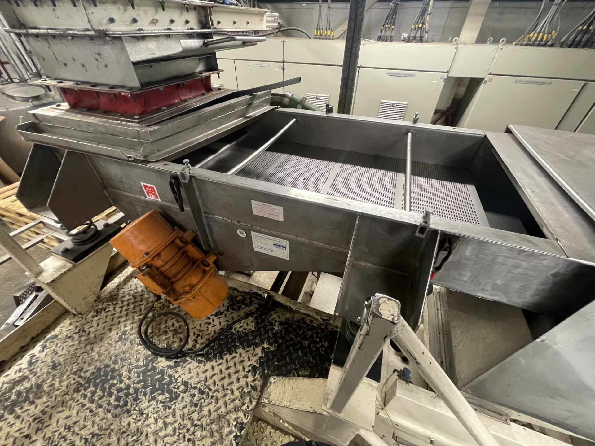 Pet Food Blending Line c/w Wynveen PM 750LH Stainless Steel Double Shaft Paddle Mixer - Image 37 of 63