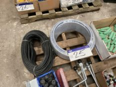 Two Reels of Hose, including PE 17.5 x 10mm, 20m l
