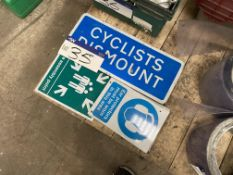 Assorted Health & Safety Signs