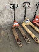Toyota Hand Hydraulic Pallet Truck, forks approx.