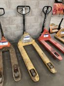 Hand Hydraulic Pallet Truck, forks approx. 1.2m