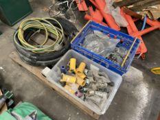 Assorted Shot Blasting Equipment, including hose,