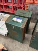 TwoDog Waste Bins, with galvanised inner bins, ea