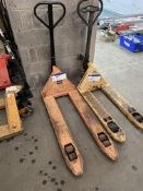 2500kg Hand Hydraulic Pallet Truck, forks approx.
