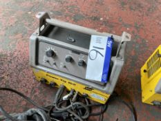Esab Power Tig LTR 160 Tig Unit, with leads as set out. Please read the following important
