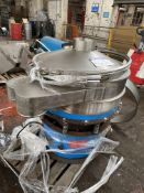 Vibrowest MR36 VIBRATORY SCREEN, serial no. 2228. Please read the following important notes:-