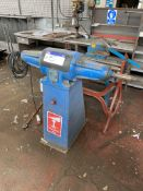 Canning 1612 Double Ended Polishing Spindle, serial no. 52919, three phase. Please read the