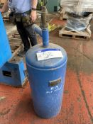 Vertical Welded Steel Air Receiver, 36 x 15. Please read the following important notes:-