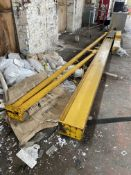 Python 1750kg SWING ARM JIB CRANE, serial no. 6529.IT1, swing approx. 6.8m (only one swing support