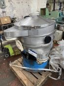 Vibrowest MR36 VIBRATORY SCREEN, serial no. 2433. Please read the following important notes:-