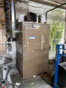 Parmet GP400 Gas Fired Cabinet Space Heater, serial no. 3507500. Please read the following important