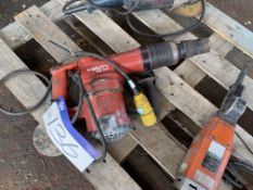 Hilti TE78 Portable Electric Drill, 110V. Please read the following important notes:- Assistance
